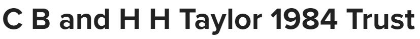 CB & HH Taylor 1984 Trust